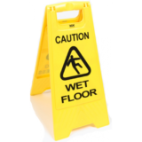 A-Fram Clean/Progress-Caution Wet Floor Sign